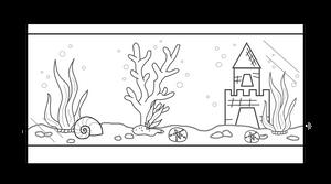 Fish Tank Lineart [F2U] by SammichPup