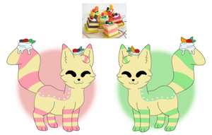 Furunu Twins Adopt Auction [OPEN] by SammichPup