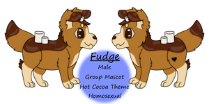 Ref: Fudge - Group Mascot