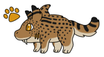 [G.A] Sharkpup Adopt 2 - Sabertooth Cat (closed)