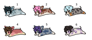 Chibi Dog Adopts 3 [closed]
