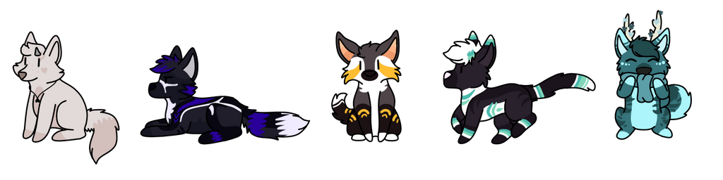 doodle cheeb batch by SammichPup
