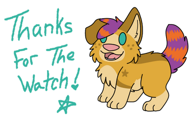 thanks! by SammichPup