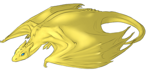 Pernese Fire-lizard hatchling