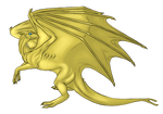 Pernese Fire-lizard adult