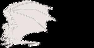 Pernese Dragon Lineart