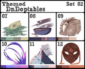 Themed DnDoptables Set 02