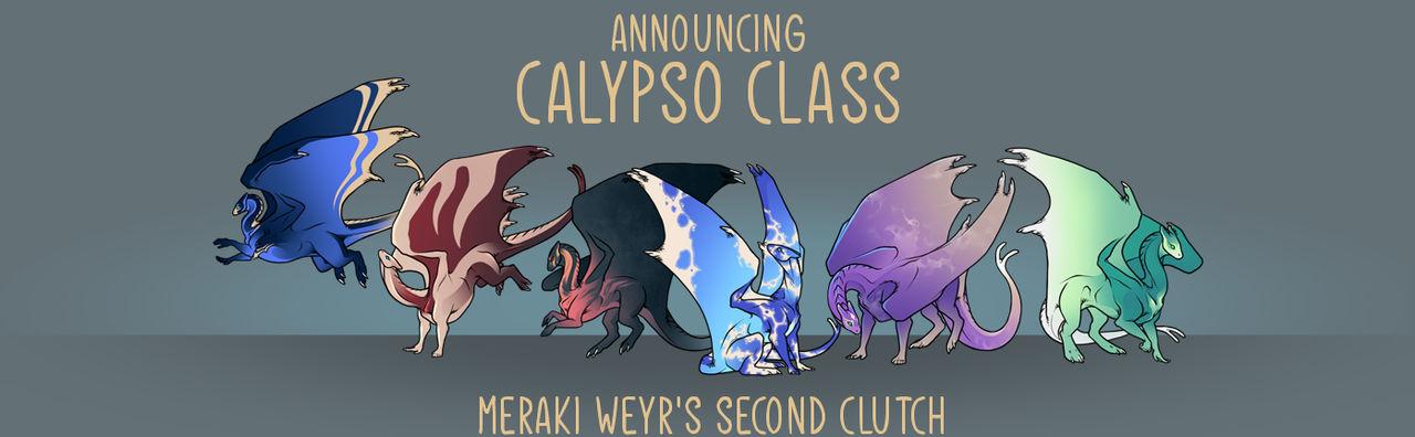 Meraki's Second Clutch - Calypso Class