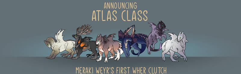 Meraki's First Wher Clutch - Atlas Class