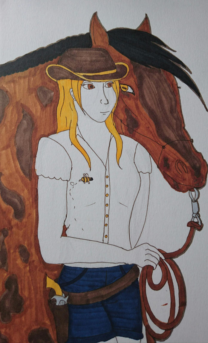 Cowgirl!Beatrix by CartoonMad97