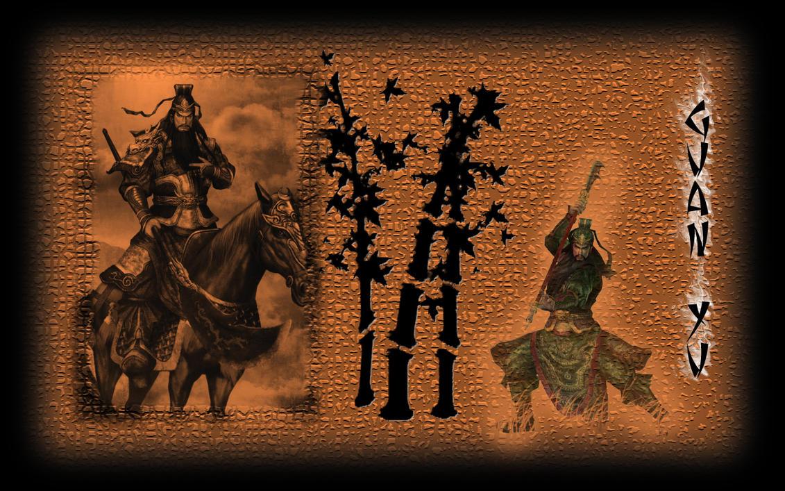 Guan Yu Wallpaper by eLaugher on DeviantArt