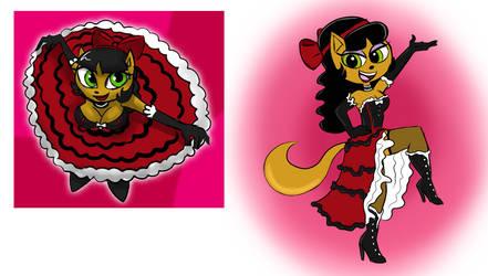 Saloon Girl Kitty - Verona7881