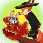 Folklorico Judy and Nick! - Skelly-Doll
