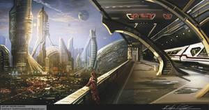 Moody City2 by FLIPPYCHAVEZART
