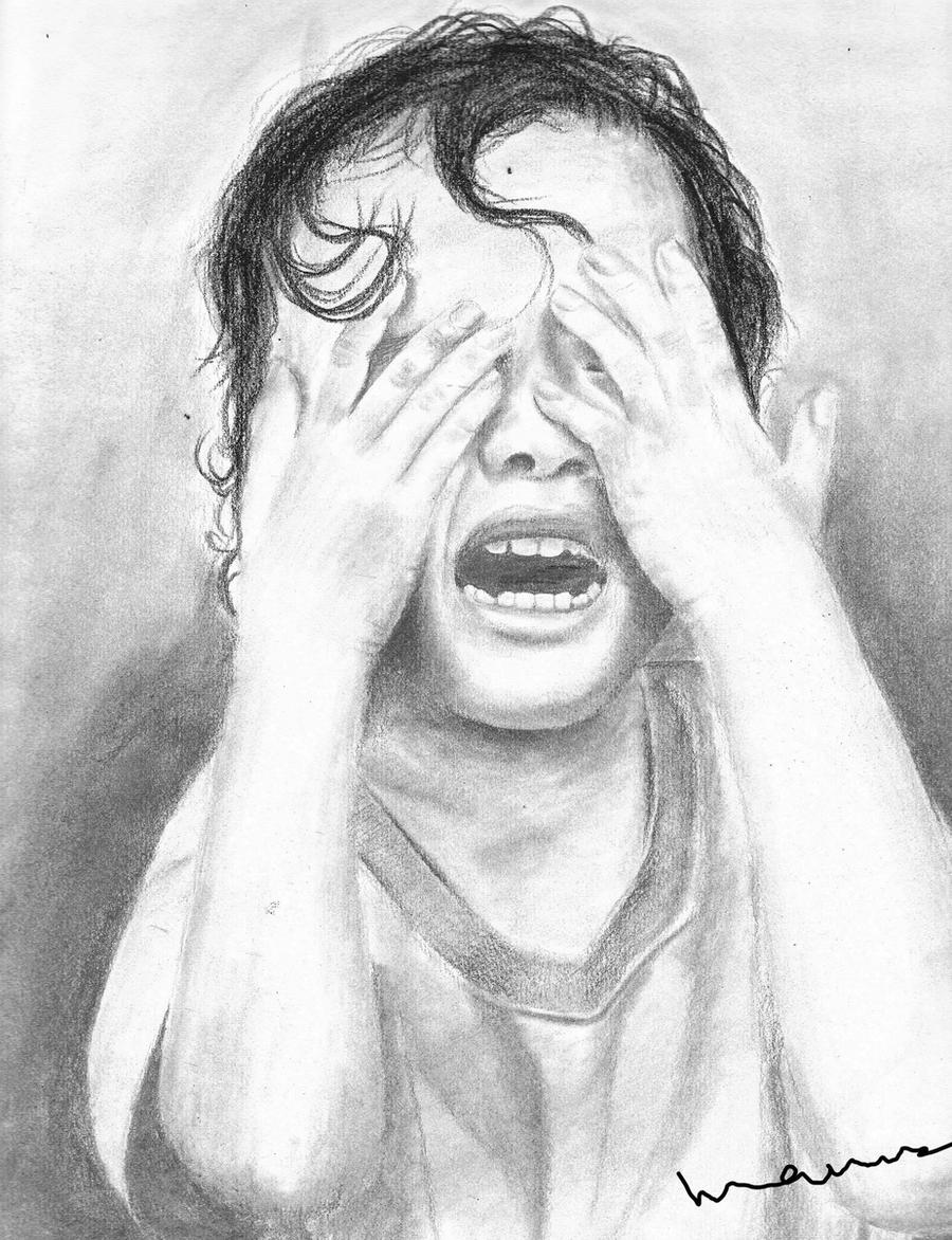 Crying Drawings Of Peo...