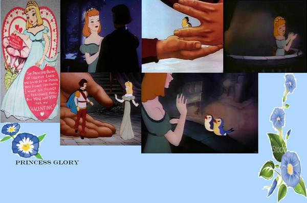 Princess Glory collage by J-Cat