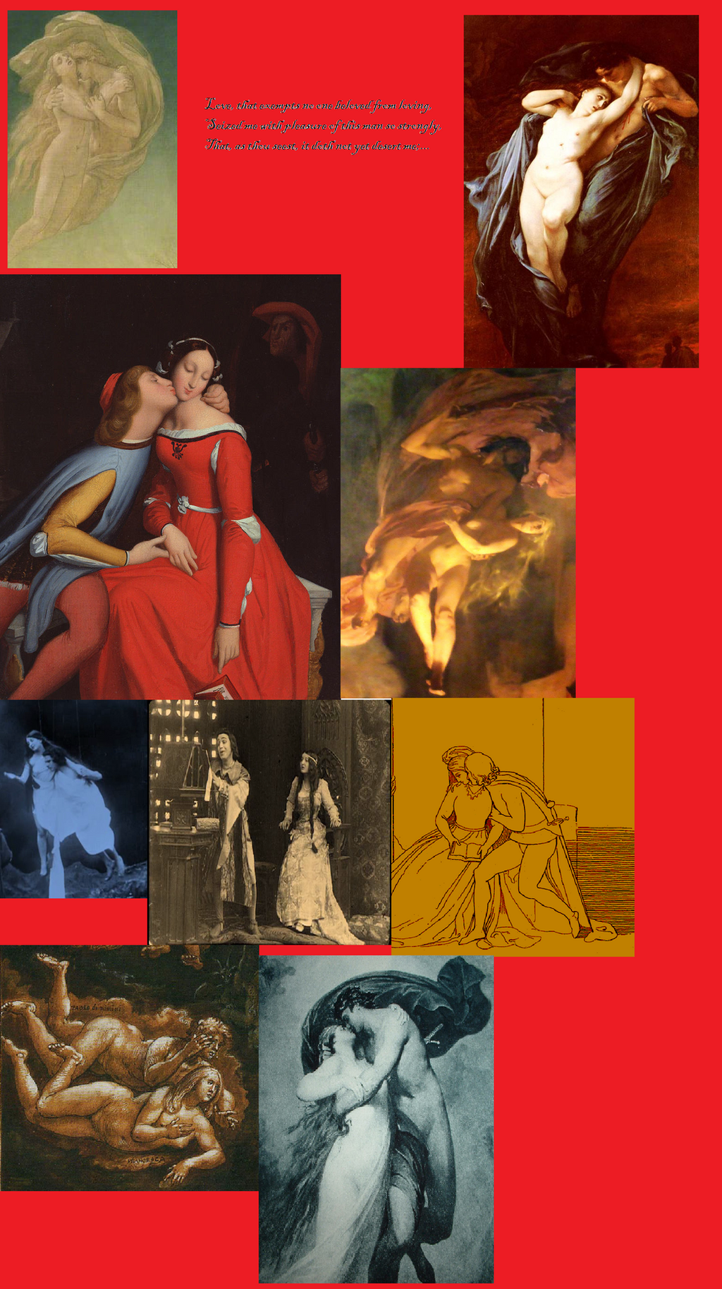 an analysis of the character of francesca da rimini in divine comedy by dante alighieri Divine comedy-i: inferno study guide contains a biography of dante alighieri, literature essays, quiz questions, major themes, characters, and a full summary and analysis.