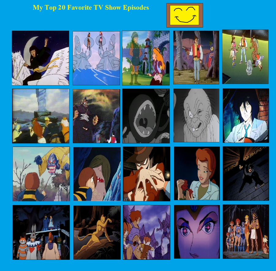 My Top 20 Best TV Show episodes by J-Cat