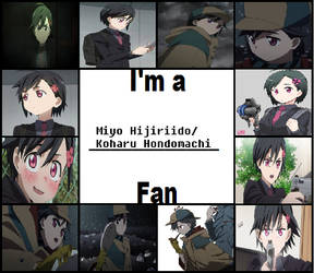 I'm A Koharu Honomachi Fan