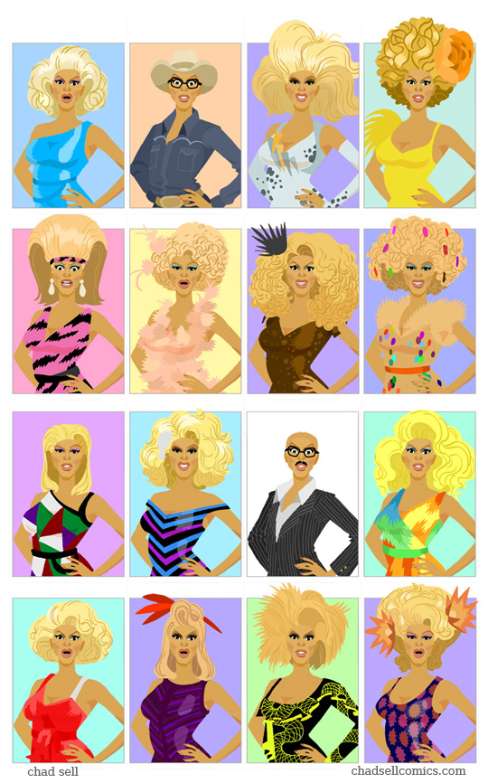 The Wall of Ru by shadcell