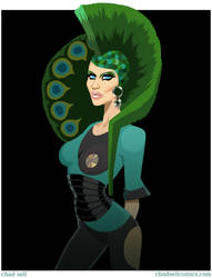 Chad Michaels - Peacock Princess by shadcell