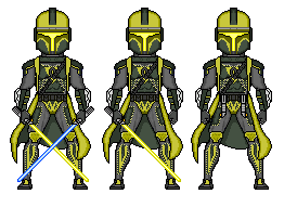 The Golden Mandalorian by Theo-Kyp-Serenno