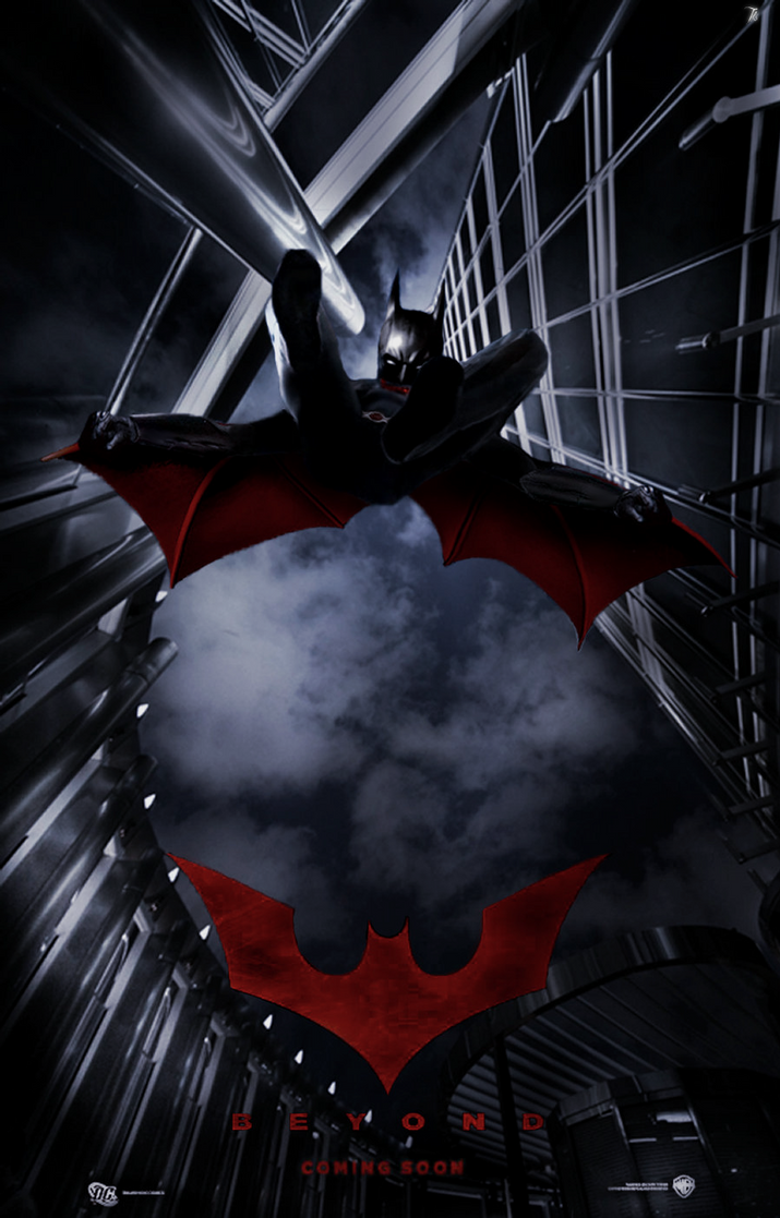 Batman Beyond Movie Poster by Theo-Kyp-Serenno