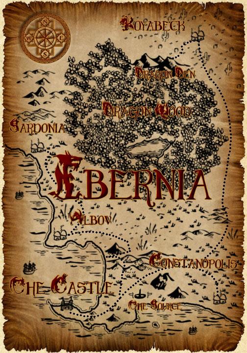 Ibernia Map by KendraFitz
