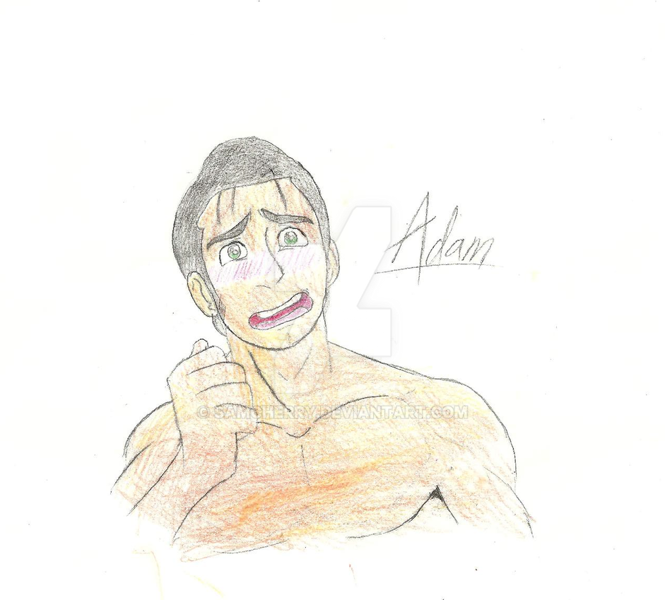 Webcomic Concept Art: Adam