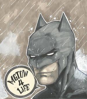 Batman is a MGTOW