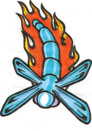 Dragonfly - dragonfly tattoo