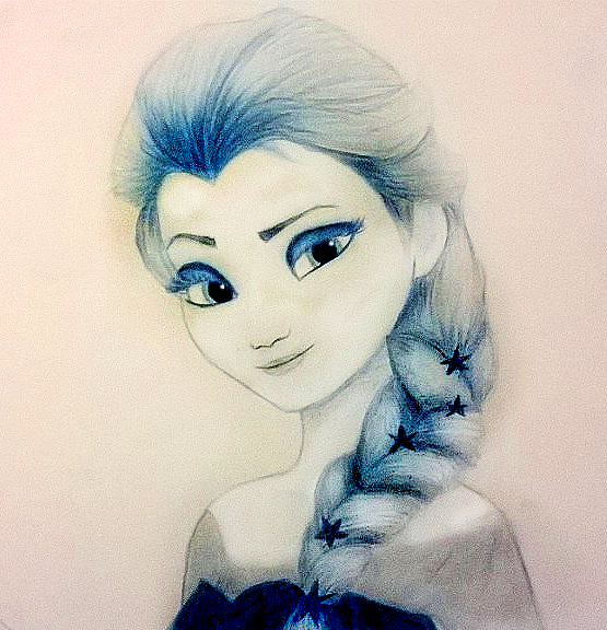 Drawing Pictures of Frozen Movie Frozen Elsa Drawing