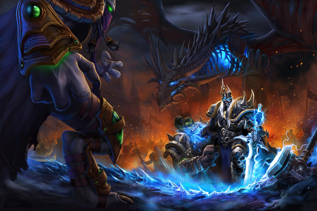 All hail the King -  Heroes of the Storm by zang213