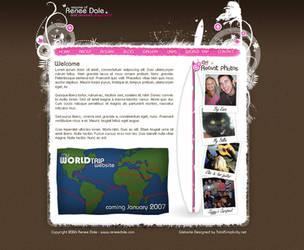 Renee Dale Personal Website by Swiftau