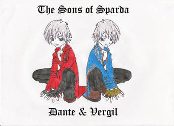 The Sons of Sparda - D + V by SoraKeybladeMaster