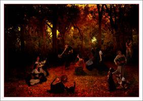 Samhain Celebration by Pinktutu
