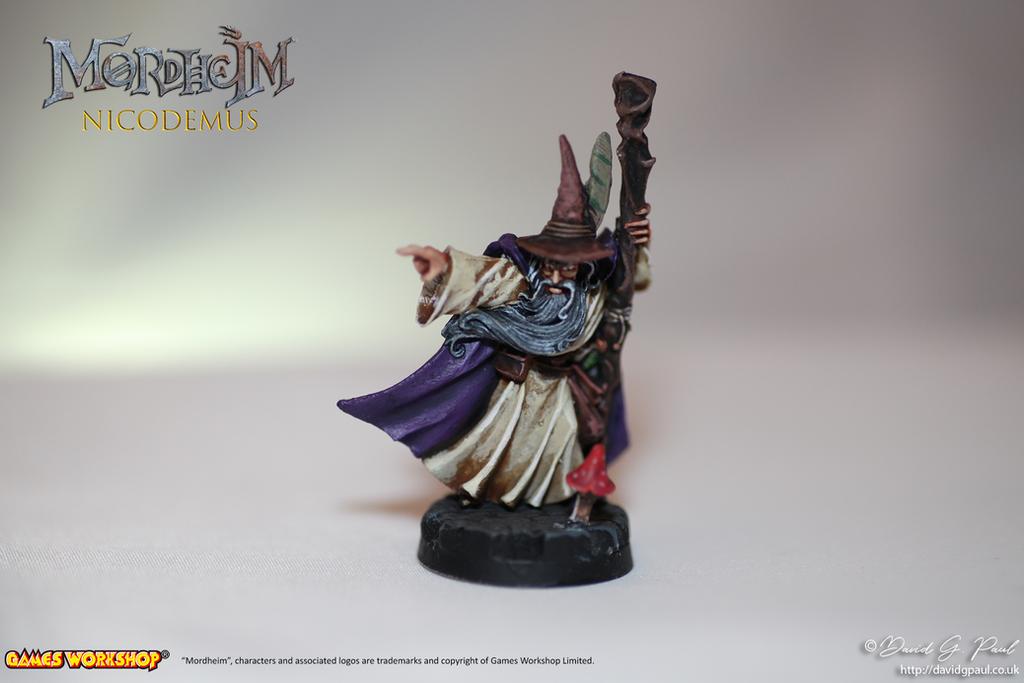 Mordheim - Nicodemus by jedi58