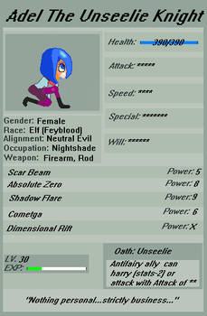 RPG-style Deviant ID v. 1.0