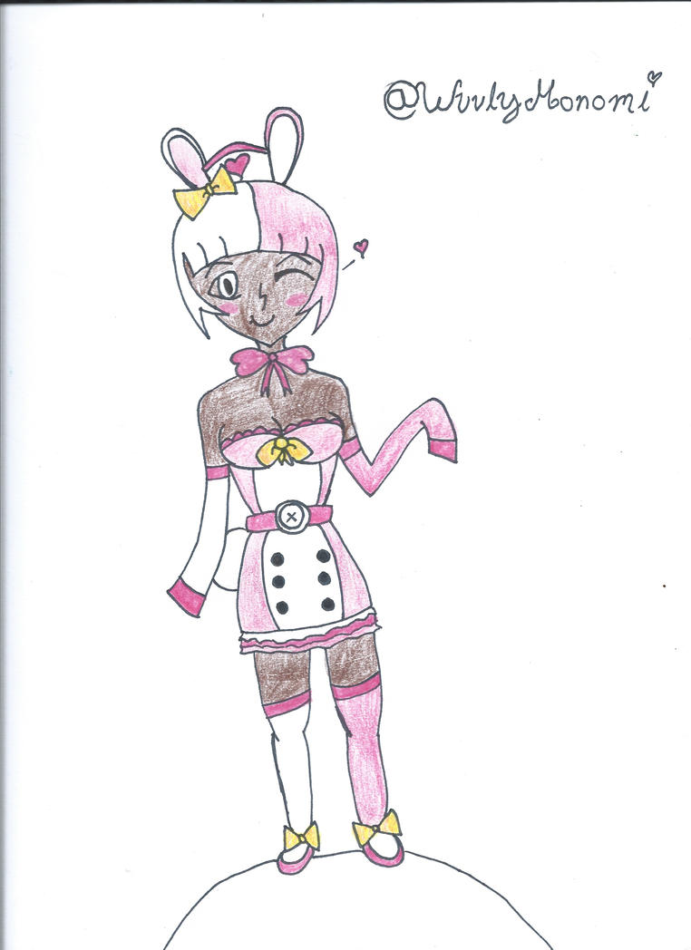 Human Monomi by luigigal24