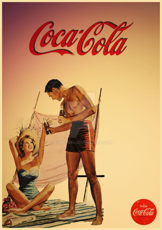 vintage coca cola poster by bdrkzn84 on deviantart. Black Bedroom Furniture Sets. Home Design Ideas
