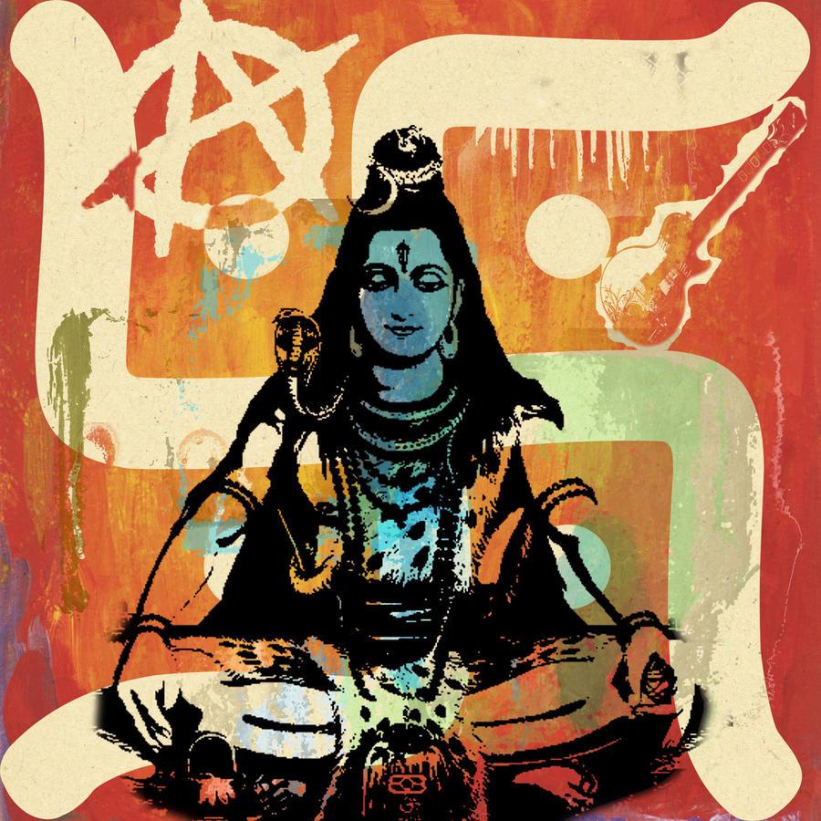 Lord Shiva Angry Lord shiva art lord shivaby