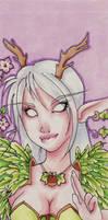 Shii, Night elf druid by shidonii