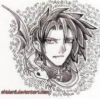 Dragon Tamer by shidonii