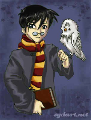 harry potter by shidonii