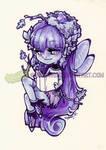 Little Purple Bookworm Fae