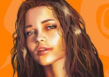 copertone girl by AdrianTodd
