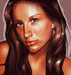 Girl Looking