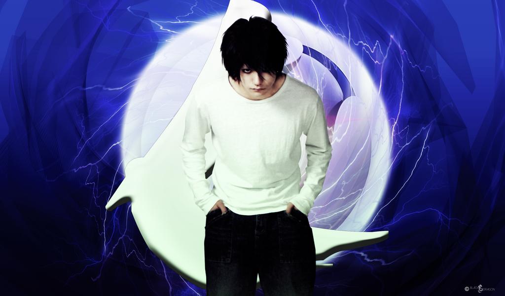 Death Note L Wallpaper HD (By: BlackDragon) by ...
