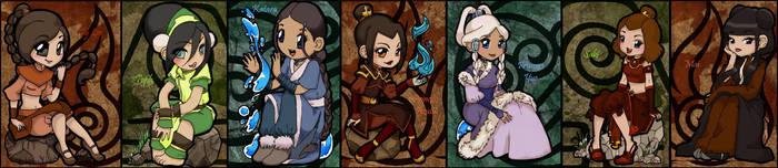 The Girls of Avatar by suzannedcapleton