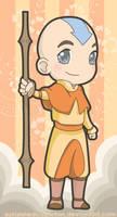 Chibi Aang by suzannedcapleton